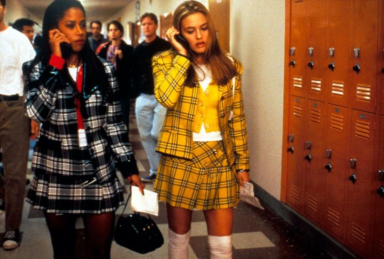 clueless plaid